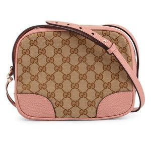 Gucci Guccissima Bree Disco Crossbody Camera Bag